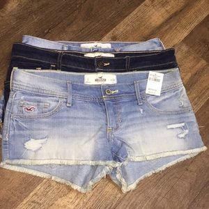 Hollister size 3 shorts